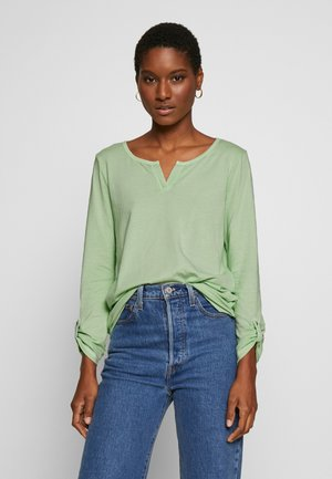 OVERDYE - Long sleeved top - light pistachio green