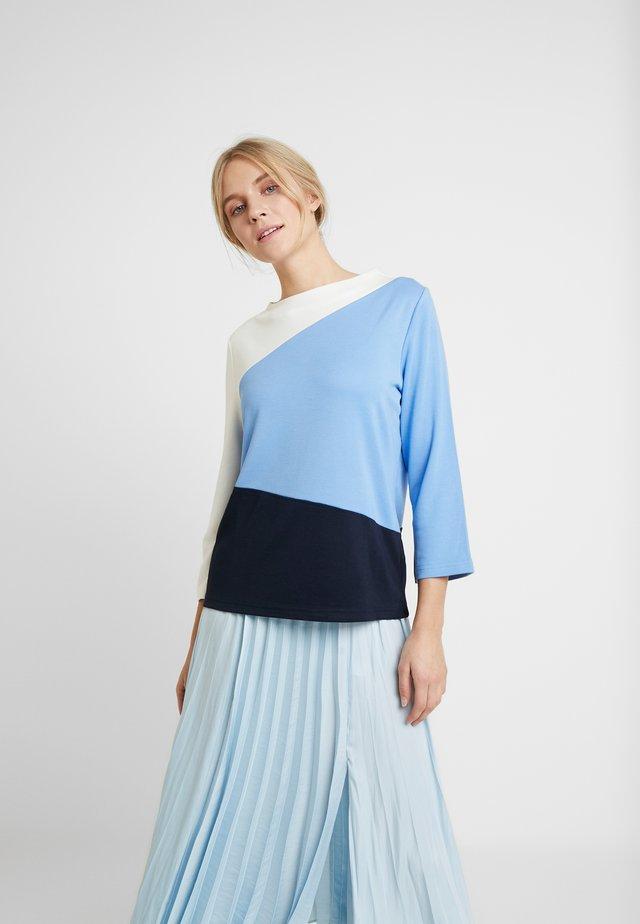 COLORBLOCK - Bluzka z długim rękawem - sea blue