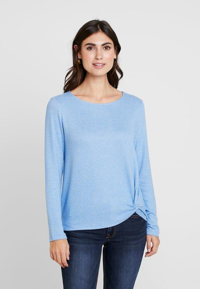 Jersey de punto - sea blue melange