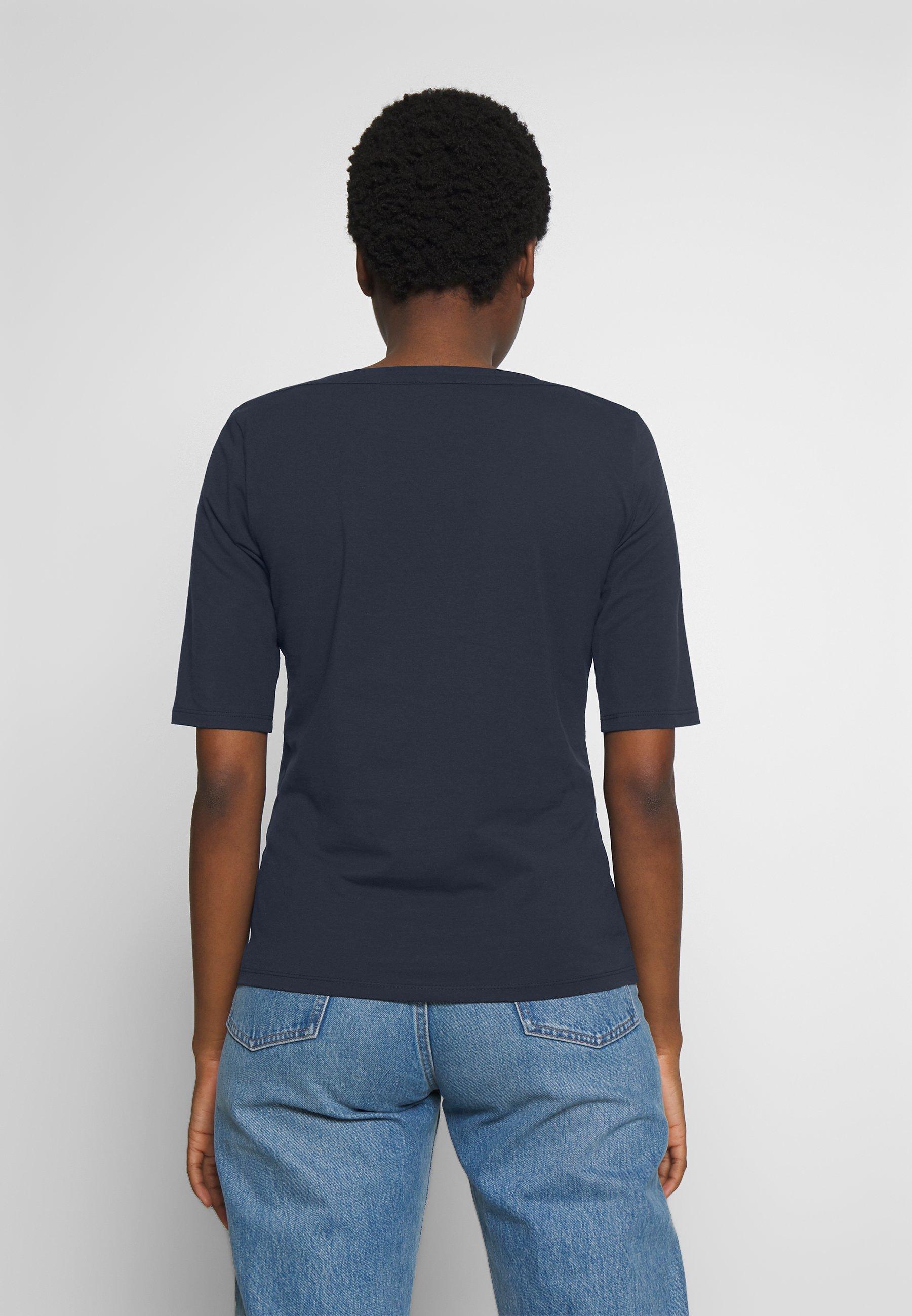 mine to five TOM TAILOR BOATNECK - T-shirts - sky captain blue