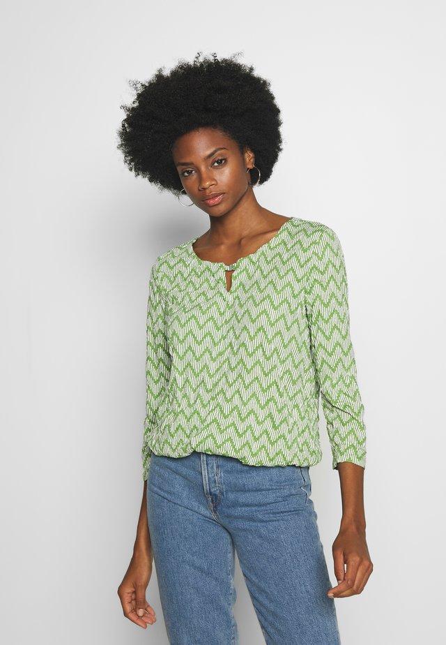 CRINCLE - Bluzka z długim rękawem - green