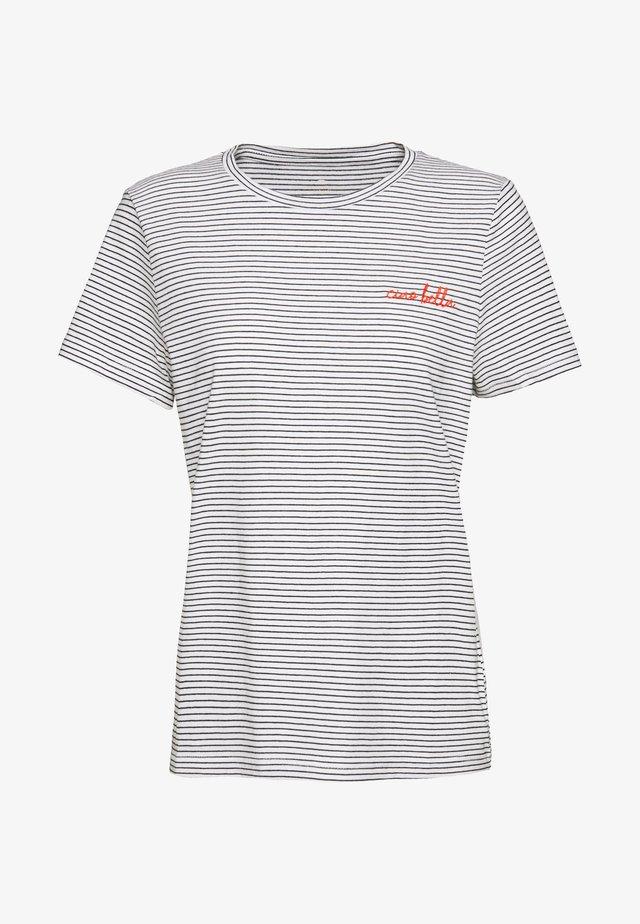 CREW NECK - Print T-shirt - offwhite