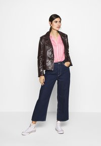 TOM TAILOR - STRUCTURED BLOUSE - Bluzka - pink - 1