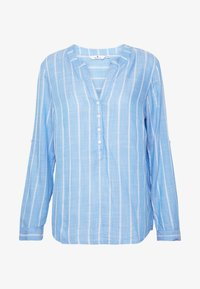 TOM TAILOR - STRUCTURED BLOUSE - Blouse - blue - 5