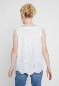 MY TRUE ME TOM TAILOR - BLOUSE WITH EMBROIDERY - Bluser - white - 2