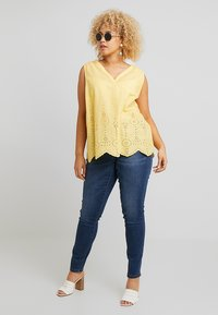 MY TRUE ME TOM TAILOR - BLOUSE WITH EMBROIDERY - Bluser - daylily yellow - 1