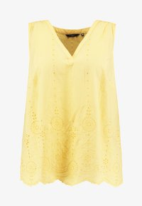 MY TRUE ME TOM TAILOR - BLOUSE WITH EMBROIDERY - Bluser - daylily yellow - 4