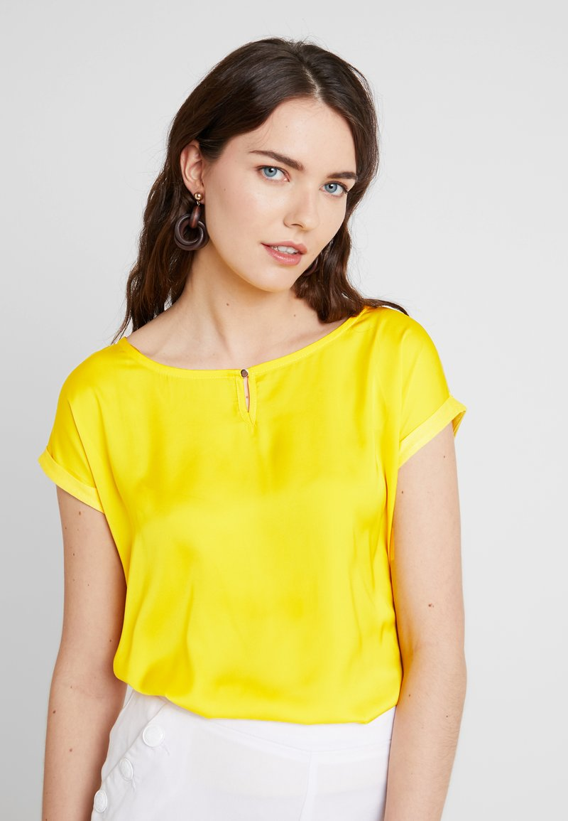 TOM TAILOR - MIX - Bluse - golden sunflower yellow