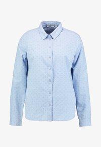 TOM TAILOR - BLOUSE DOBBY - Košile - blue - 4