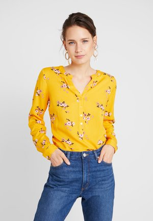 BLOUSE PRINTED - Blouse - yellow