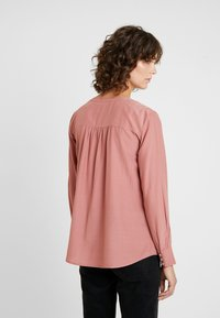 TOM TAILOR - BLOUSE STRUCTURED - Camicetta - vintage rose - 3