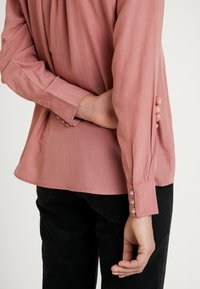 TOM TAILOR - BLOUSE STRUCTURED - Camicetta - vintage rose - 5