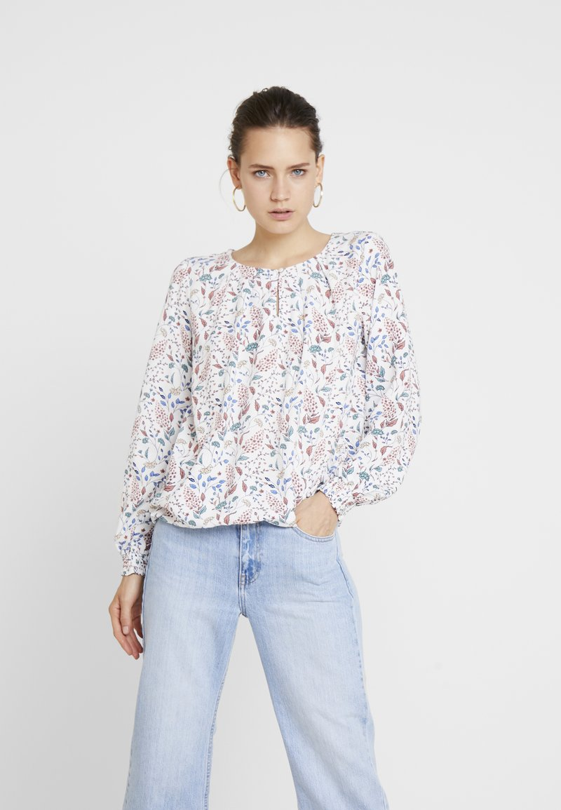 TOM TAILOR - Bluse - offwhite