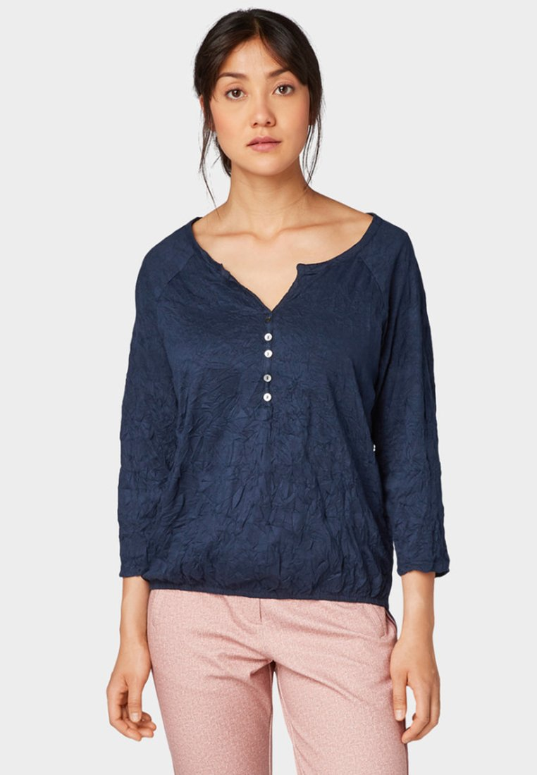 TOM TAILOR Blouse real navy blue