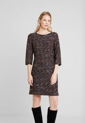 DRESS - Pouzdrové šaty - black/mutlicolor