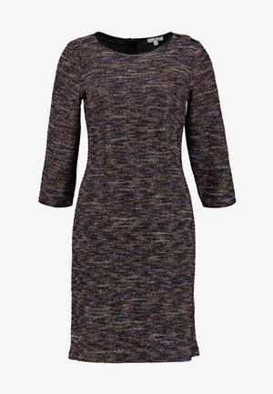 DRESS - Vestido de tubo - black/mutlicolor