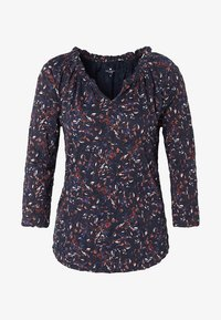 TOM TAILOR - Long sleeved top - navy - 0