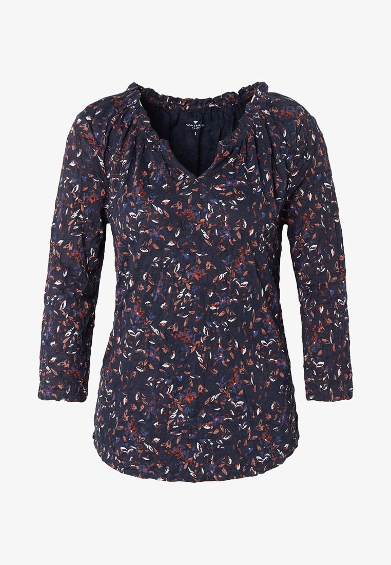 TOM TAILOR - Long sleeved top - navy