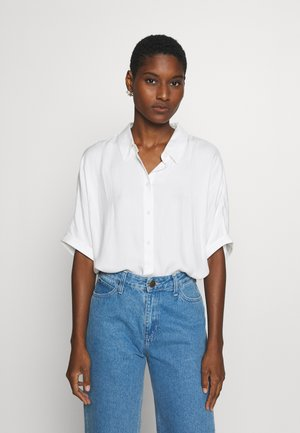 BLOUSESOLID LOOSE SHAPE - Camicia - whisper white