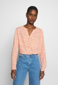 TOM TAILOR - BLOUSE PRINTED - Bluser - coral - 0