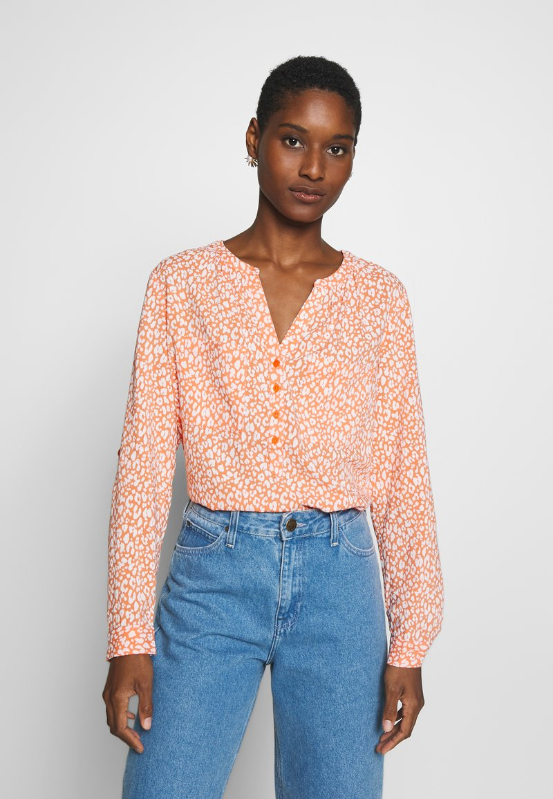 TOM TAILOR - BLOUSE PRINTED - Bluser - coral