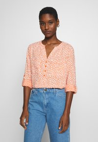 TOM TAILOR - BLOUSE PRINTED - Bluser - coral - 3