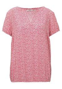 pink offwhite floral minimal