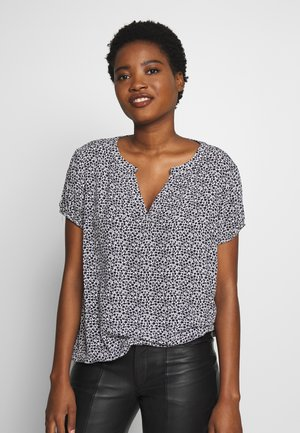 BLOUSE PRINTED - Bluser - dark blue