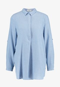 TOM TAILOR - BLOUSE LONGSTYLE - Skjorte - blue - 3