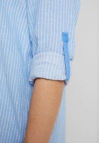 TOM TAILOR - BLOUSE LONGSTYLE - Skjorte - blue - 4