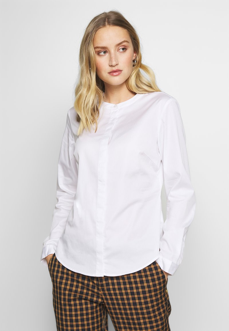mine to five TOM TAILOR - TOUCH BLOUSE - Blůza - white