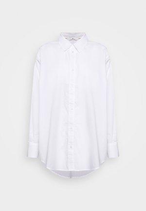 BLOUSE SOLID LOOSE SHAPE - Skjorte - white
