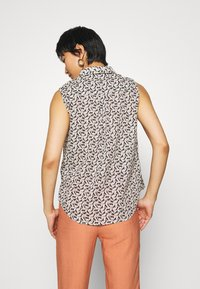 TOM TAILOR - BLOUSE PRINT AND SOLID - Camicetta - vanilla - 2