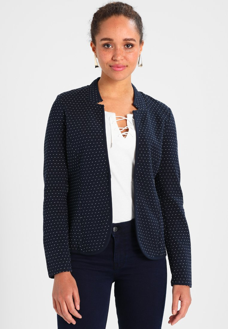 TOM TAILOR - LOOSE SHAPE  - Blazer - real navy blue