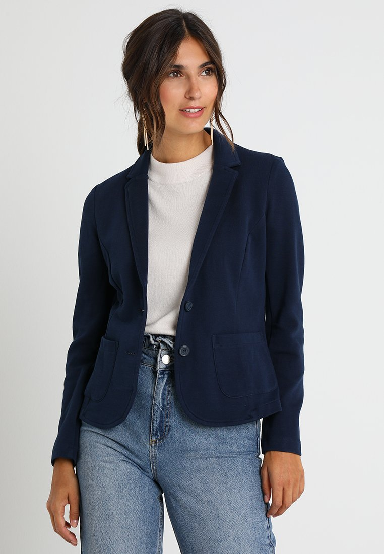 TOM TAILOR - ESSENTIAL - Blazer - real navy blue