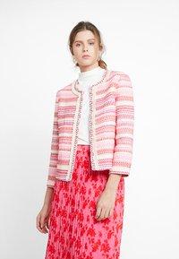 TOM TAILOR - Blazer - pink/red/purple - 0