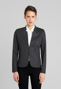 TOM TAILOR - HOUNDSTOOTH - Blazer - black/grey - 0