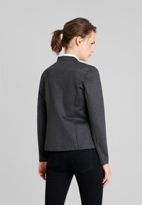 TOM TAILOR - HOUNDSTOOTH - Blazer - black/grey