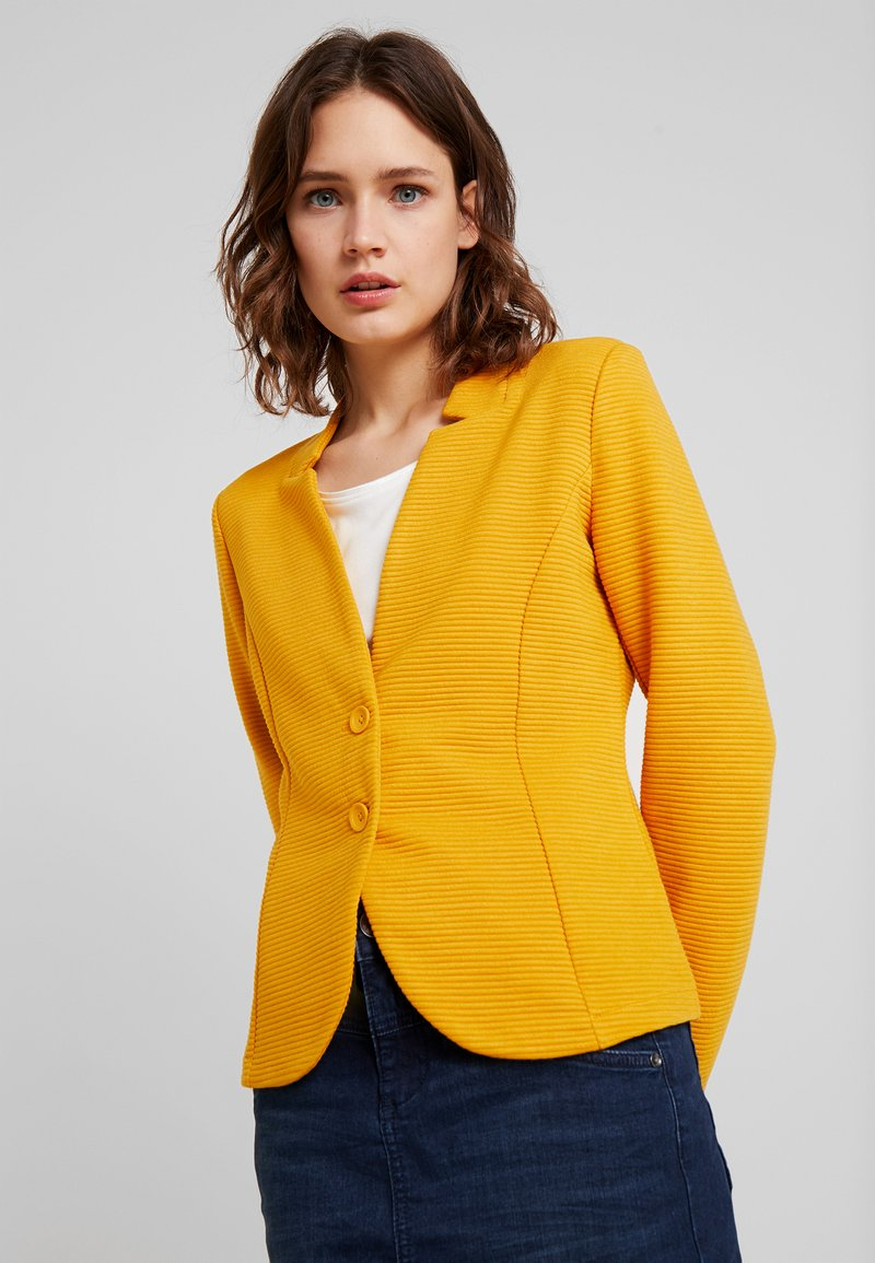 TOM TAILOR - OTTOMAN - Blazer - merigold yellow