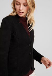 TOM TAILOR - OTTOMAN - Blazer - deep black - 4
