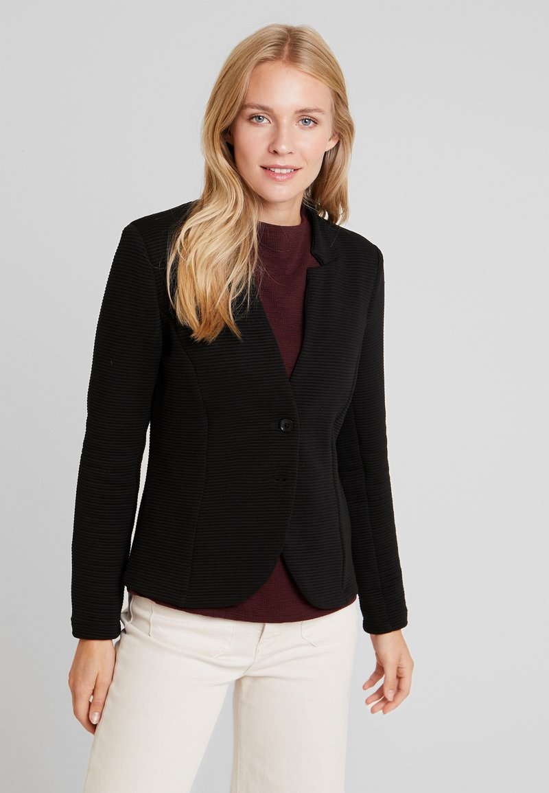 TOM TAILOR - OTTOMAN - Blazer - deep black