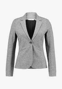 TOM TAILOR - COZY BRUSHED - Blazer - alloy melange grey