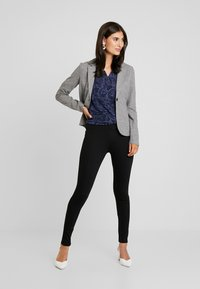 TOM TAILOR - COZY BRUSHED - Blazer - alloy melange grey - 1
