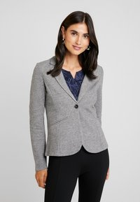 TOM TAILOR - COZY BRUSHED - Blazer - alloy melange grey - 0