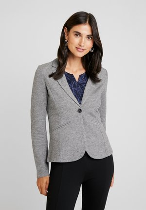 COZY BRUSHED - Blazer - alloy melange grey