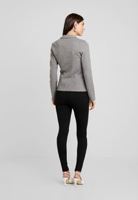 TOM TAILOR - COZY BRUSHED - Blazer - alloy melange grey - 2