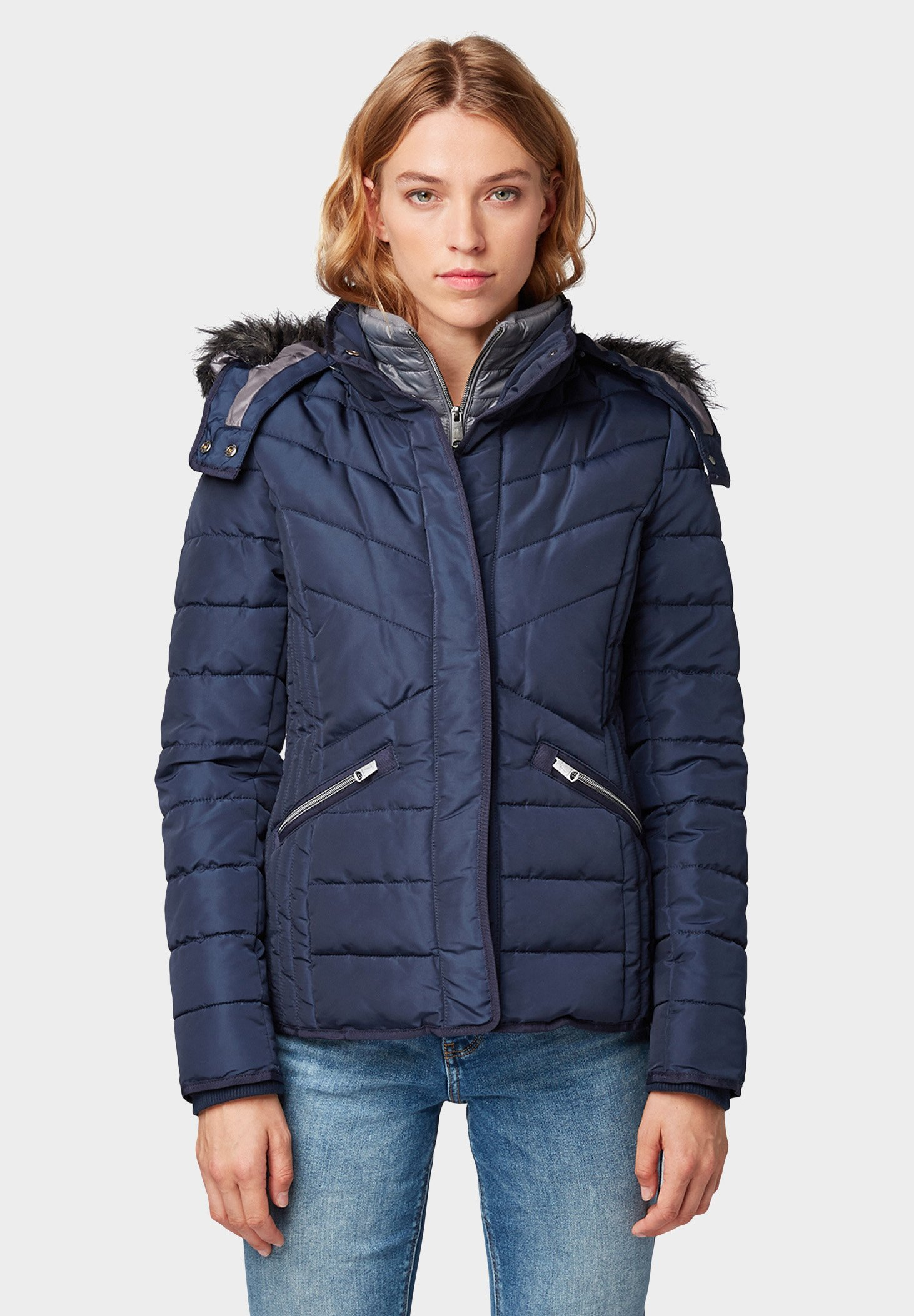 TOM TAILOR Giacca invernale real navy blue