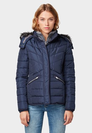 Winter jacket - real navy blue