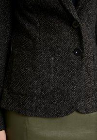 TOM TAILOR - SALT AND PEPPER - Blazer - grey/black - 4