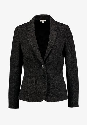 SALT AND PEPPER - Blazer - grey/black